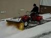 Winter Allrounder - Kehrmaschine und Streugerät in einem