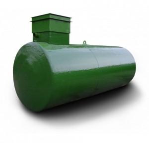 Große Dieseltankanlage mit 10000 Liter Volumen