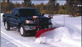 Schneepflug SD-1550 für Geländewagen