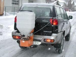 Anbaustreuer für Jeeps & Pick-Ups