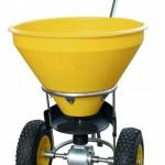 Hand-Streuwagen - ideal für den Winterdienst, aber auch zum Sähen und Düngen