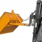 Auch hydraulische Stapler-Schaufeln kommen im Winterdienst zum Einsatz