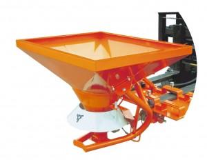Hydraulischer Anbaustreuer für Stapler