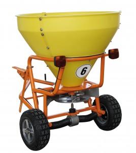 Streuwagen SW-300 für große Streuflächen  mit 300 Liter Fassungsvermögen